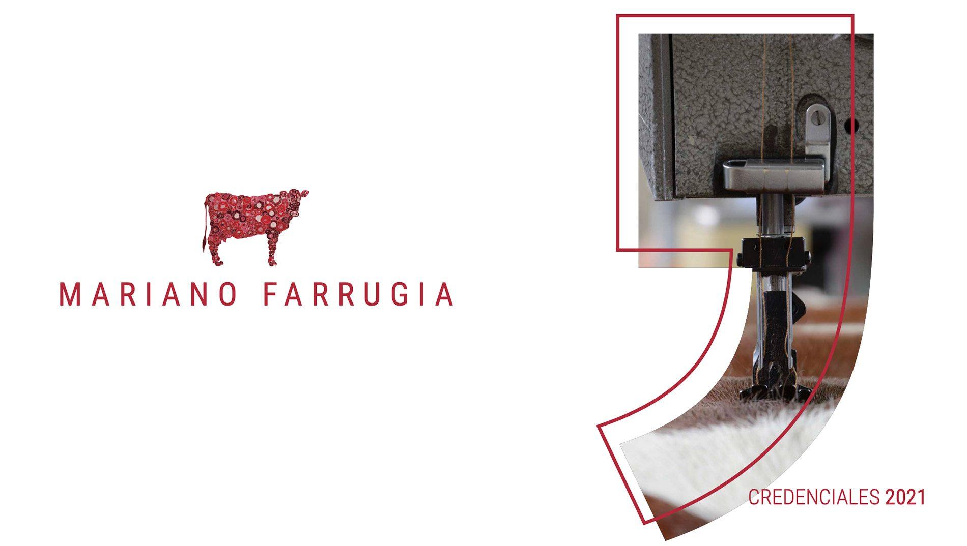 Credenciales de Mariano Farrugia
